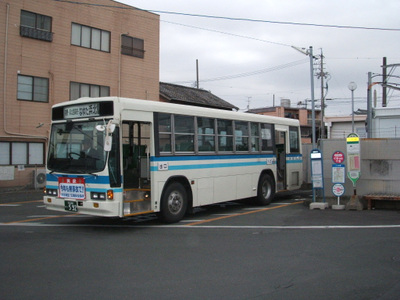 080113_034 (始発 小松駅) 浜松バス 浜北中南部循環線東回り