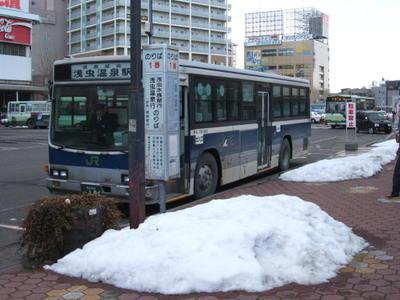 JRバス東北 浅虫線: 「村民」バスのページ 乗りある記